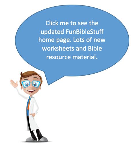 Classroom Worksheets New Testament Topics